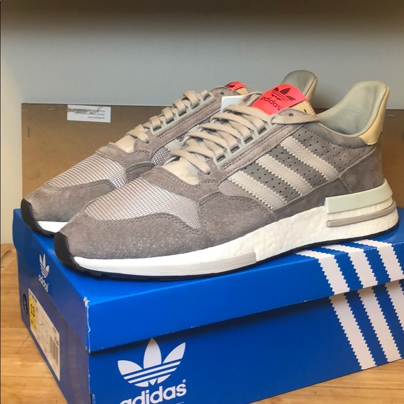 hot sale online c8aea 52c41 Adidas ZX 500 RM Leather Suede Boost NWT